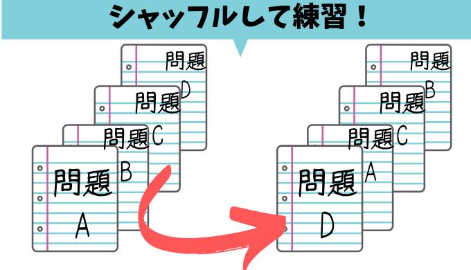 数学のノートを表・裏で使い分ける作り方【ルーズリーフがおすすめ!】のコピー
